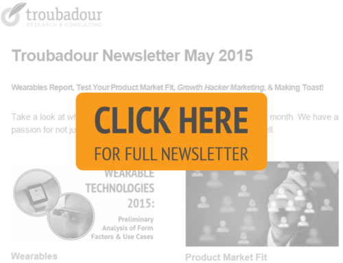 Newsletter – May 2015